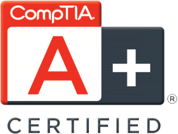 Techs-on-Call is CompTIA A+ certified